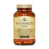B-COMPLEX - SOLGAR - Vitamina B, colina e inositol