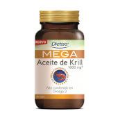 Mega Aceite de Krill es una fuente excelente de Omega-3.