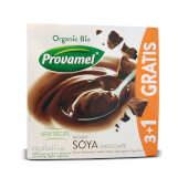 Provamel Soja Dessert Chocolate Bio 3+1 Gratis es un postre saludable.