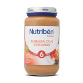 Potitos Ternera con Verduras para bebés desde los 6 meses.