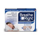 Breathe Right Clásicas abre las fosas nasales.