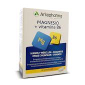 Magnesio + Vitamina B6 favorece la salud muscular y ósea.