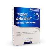 Arkodiet Arkoleol Omega 3 + Zinc + Cromo - Arkopharma