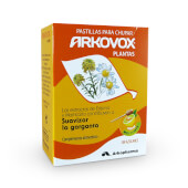 Arkovox Plantas Pastillas Miel y Limón suavizan y calman la garganta.