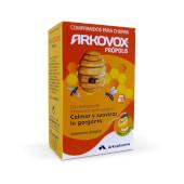 Arkovox Própolis Miel y Limón calma y suaviza la garganta.