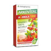 Arkovital Acerola 1000mg está indicado para potenciar el sistema inmune.
