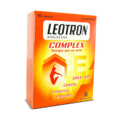 Prueba Leotron Complex para recargarte de energía y vitalidad cuando más lo necesitas.