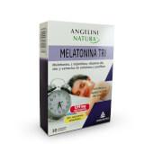 Melatonina Tri ha sido especialmente diseñado para mejorar el descanso nocturno.