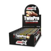 TWINPRO PROTEIN BAR - AMIX - 30% de proteínas por barrita