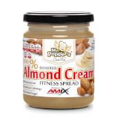 Crema de Almendras no contiene azúcares añadidos ni conservantes.