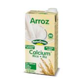Bebida De Arroz Calcio Bio - NaturGreen - Contiene alga calcárea