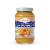 Babybio Potito Buenas Noches Zanahoria, Calabaza y Arroz 100% ecológico.