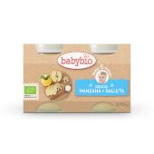 Babybio Delicia Manzana y Galleta es ideal para bebés desde los 6 meses.