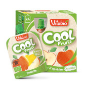 Vitabio Cool Fruits Manzana + Acerola, una divertida forma de tomar fruta.
