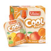 Vitabio Cool Fruits Manzana, Albaricoque y Melocotón + Acerola fruta para llevar.
