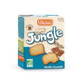Vitabio Mini Jungle Biscuit Chocolate son galletas ecológicas para niños.