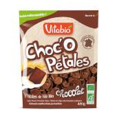 Vitabio Choco Petales riquísimos cereales ecológicos con chocolate.