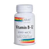 VITAMINA B12 1000mcg - SOLARAY - Comprimidos sublinguales