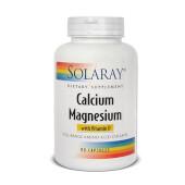 Calcio y Magnesio de Solaray, dos minerales indispensables en tu dieta.
