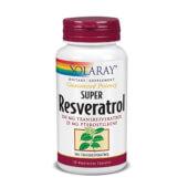 SUPER RESVERATROL - Solaray - Alto contenido en antioxidantes