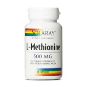 L-METIONINA 500mg - SOLARAY - Ideal para uñas y piel