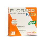 Florase Kids está indicado para equilibrar la flora intestinal de los más pequeños.