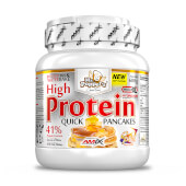 Elabora unas ligeras y sanas tortitas proteicas con High Protein Pancakes.