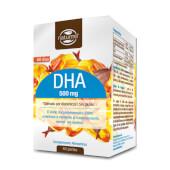DHA 500mg favorece el mantenimiento de la visión y el funcionamiento del cerebro.