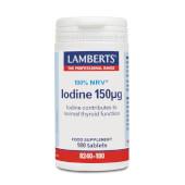YODO 150µg - LAMBERTS - Fuente natural de yodo