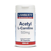 Acetil L-Carnitina de Lamberts es ideal para perder peso.