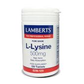 L-LISINA 500mg - LAMBERTS - Favorece el crecimiento muscular