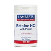 BETAÍNA HCI CON PEPSINA - LAMBERTS - Cuidado digestivo