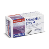 Acidophilus Extra 4 - Lamberts - Con lactobacillus y bifidobacterias