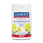 Aceite de Prímula Extra con Borraja 1000mg de Lamberts fuente rica de ácido gamma Linolénico.