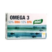 Omega 3 DHA + EPA, elaborado con aceite de pescado sin contaminantes.
