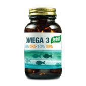 Omega 3, DHA + EPA favorece el funcionamiento del cerebro, visión y de la circulación.