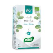 Infusión Menta Bio son elaboradas con hojas de menta 100% ecológica.