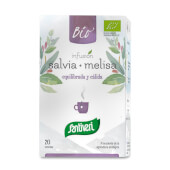 Infusión Salvia con Melisa Bio favorece las digestiones y relaja.