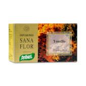 Sana Flor Tomillo es una infusión de plantas naturales elaborada con tomillo.