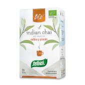 Infusión Té Indian Chai Bio combina el té negro con las especias de la india.