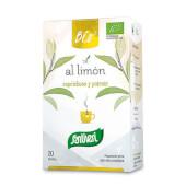 La Infusión Té al Limón Bio de Santiveri es una infusión ecológica.