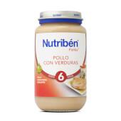 POTITOS POLLO CON VERDURAS - NUTRIBÉN