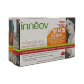 Innéov Firmeza 45+ + Sensibilidad Solar (Gratis) aportan nutrientes a tu piel.