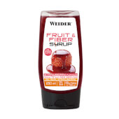 FRUIT AND FIBER SYRUP - WEIDER