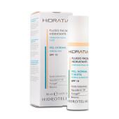 Hidratia Fluido Facial Hidratante Piel Normal y Mixta SPF15 cuida tu piel.