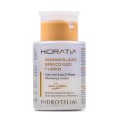 Hidratia Desmaquillante Bifásico Ojos y Labios limpia, calma e hidrata la piel.