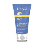 Primera Crema Mineral SPF50 protege la piel sensible de los bebés.