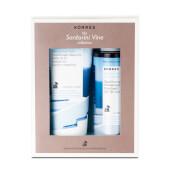 Pack Viñas de Santorini limpia e hidrata eficazmente la piel.
