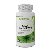 Saw Palmetto 500mg favorece el bienestar urinario.