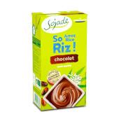 POSTRE DE ARROZ CON CHOCOLATE BIO - Sojade - Sin lactosa
